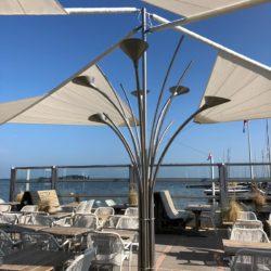 Restaurant Strandtent Muiderberg - Terras Zeemeeuw